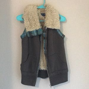 "Free People ""We the Free"" Faux Fur Lined Vest"